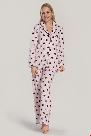 Жіноча піжама DKNY Festive Beast рожева