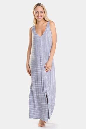 Жіноча нічна сорочка DKNY Grey Stripe