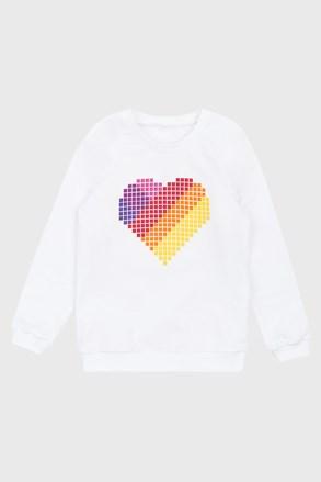 Світшот для дівчаток Love hearts
