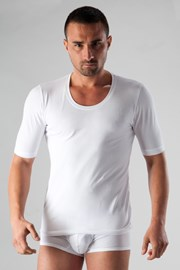 Чоловіча футболка basic біла
