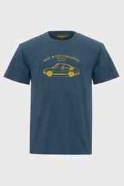 Синя футболка Bushman Bobstock