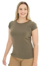 Жіноча оливкова футболка Bushman Natalie II
