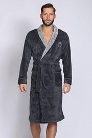 Темно-сірий халат Professor