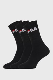 3 ПАРИ чорних високих шкарпеток FILA