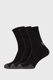 3 ПАРИ високих чорних шкарпеток Under Armour