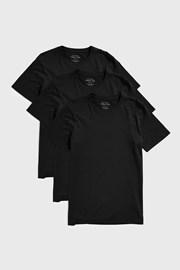 3 ШТ чорних футболок Austin