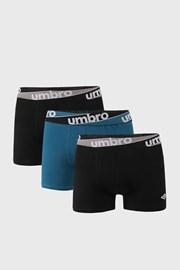 3 ШТ синьо-чорних трусів боксерів Umbro