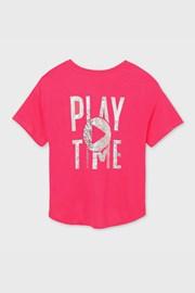 Футболка для дівчинки Mayoral Playtime рожева