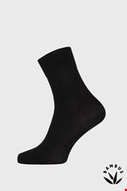 Чорні бамбукові шкарпетки високі