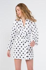 Жіночий халат Polka в горошок