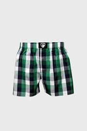 Чорно-зелені картаті труси-шорти Represent Classic Ali