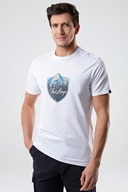 Біла футболка LOAP Alesh