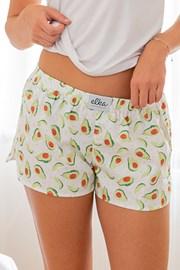 Жіночі шортики ELKA LOUNGE з авокадо
