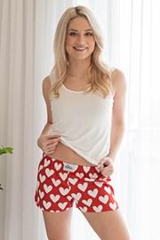 Жіночі шортики ELKA LOUNGE із сердечками