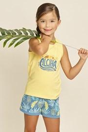 Піжама для дівчаток Aloha Palms