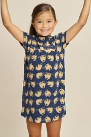 Нічна сорочка для дівчаток Sloth