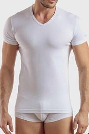 Біла бавовняна футболка Max PLUS SIZE