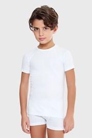 Футболка для хлопчиків E. Coveri basic біла