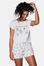 Жіноча піжама Green
