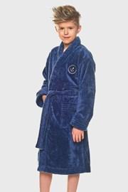 Халат для хлопчиків Elegant синій