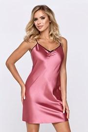 Атласна сорочка Escora рожева