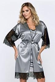 Жіночий халат Escora сірий