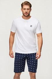 Біла піжама FILA Short Jersey