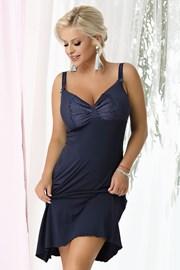 Жіноча нічна сорочка Gina Navy blue