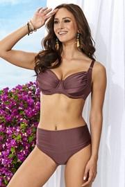 Жіночий роздільний купальник Alette коричневий