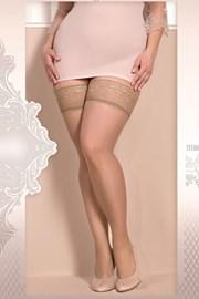 Розкішні самотримаючі панчохи Soft size 363