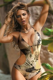 Жіночий купальник монокіні Grenada khaki