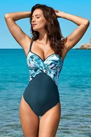 Жіночий суцільний купальник Xena Blue