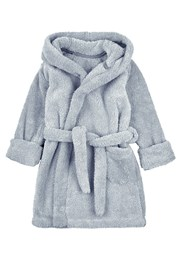Дитячий халат сірий