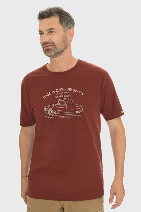 Бордова футболка Bushman Bobstock