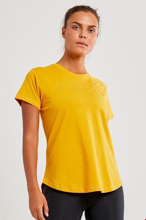 Жіноча футболка CRAFT Deft жовта