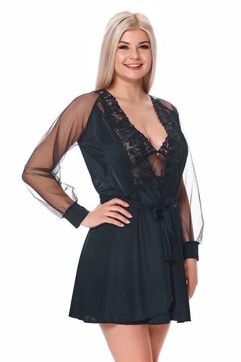 Жіночий розкішний халат Michela