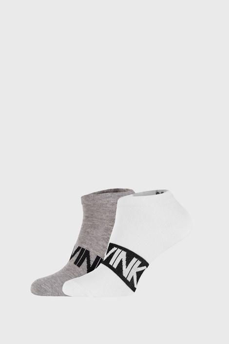 2 ПАРИ сіро-білих шкарпеток Calvin Klein Dirk