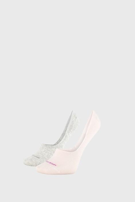 2 ПАРИ жіночих шкарпеток Calvin Klein Jessica сіро-рожеві