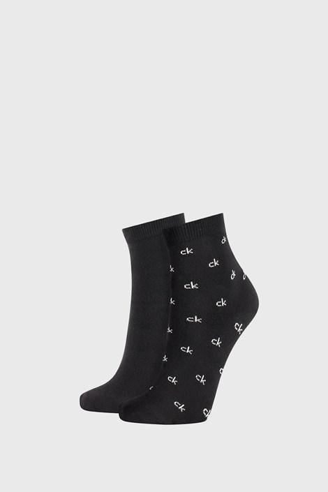 2 ПАРИ жіночих чорних шкарпеток Calvin Klein Gretchen
