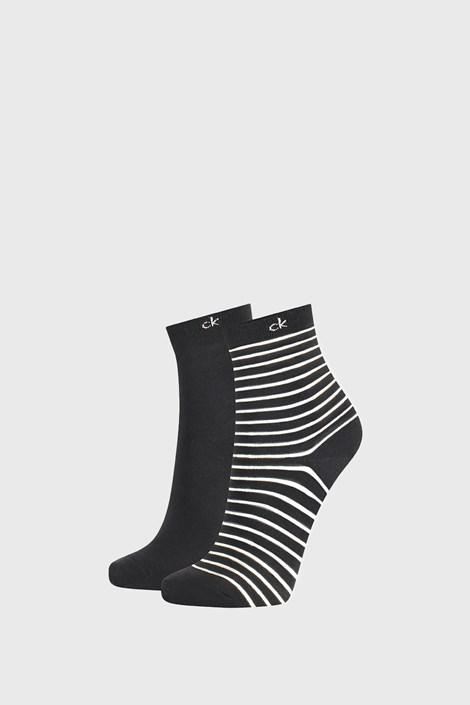 2 ПАРИ жіночих шкарпеток Calvin Klein Lilly чорні