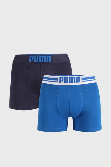 2 ШТ синіх боксерок Puma Placed Logo
