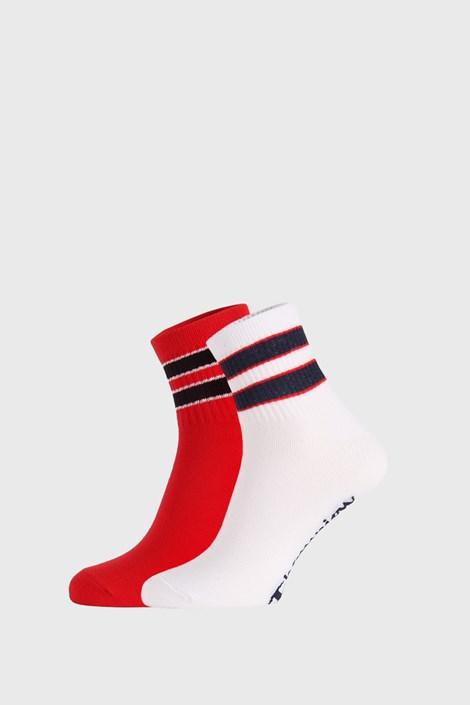 2 ПАРИ червонобілих шкарпеток Champion Legacy