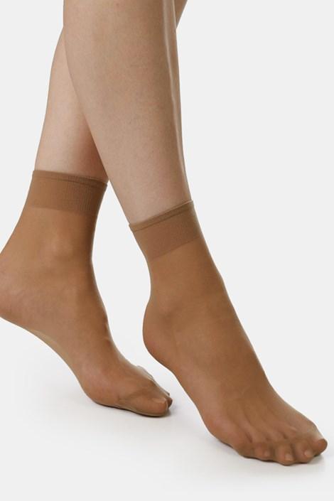 2 ПАРИ нейлонових шкарпеток EVONA Silver 20 DEN
