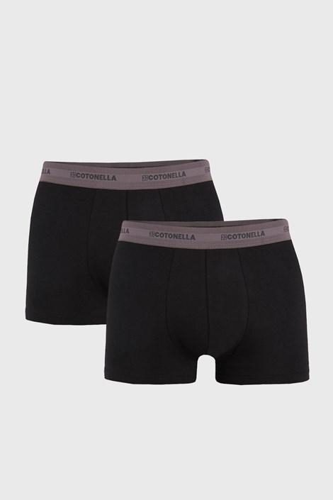 2 ШТ сіро-чорних трусів боксерів Uomo Comfort
