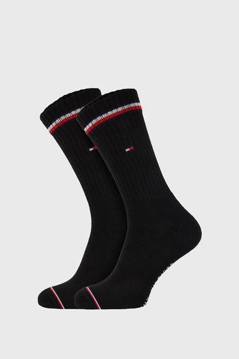 2 ПАРИ чорних високих шкарпеток Tommy Hilfiger Iconic