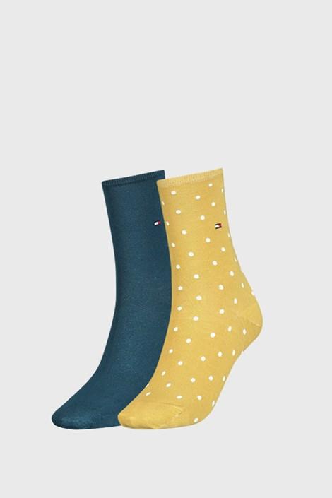 2 ПАРИ жовтих жіночих шкарпеток Tommy Hilfiger Dot