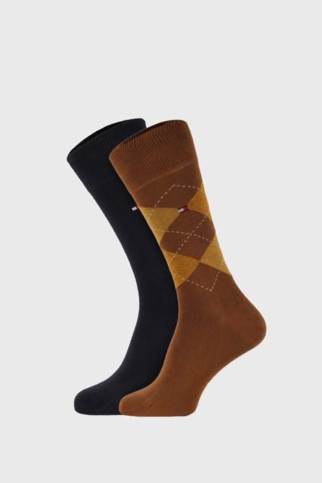 2 ПАРИ хакі шкарпеток Tommy Hilfiger Check
