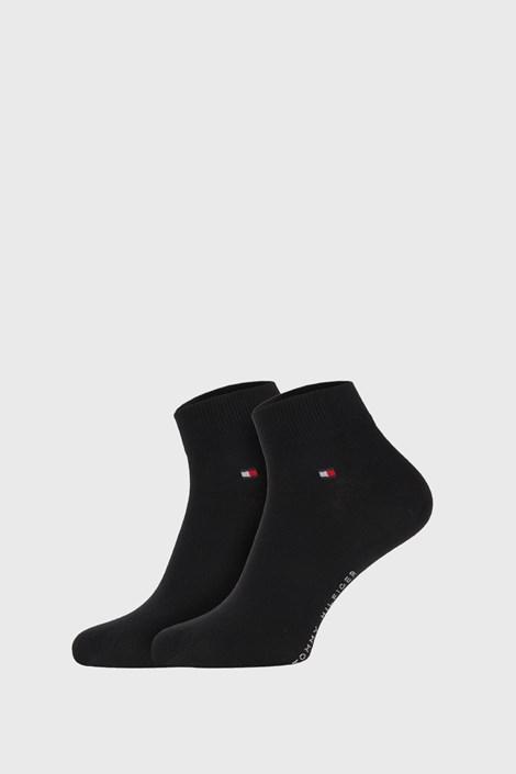 2 ПАРИ чорних шкарпеток Tommy Hilfiger Quarter