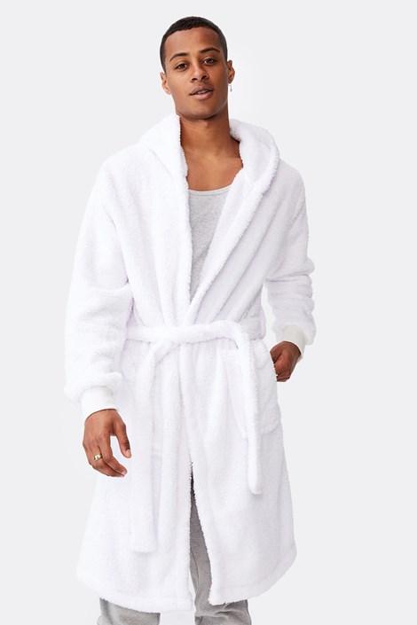 Білий халат Plush