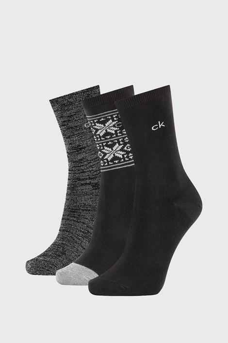 3 ПАРИ жіночих шкарпеток Calvin Klein Isla